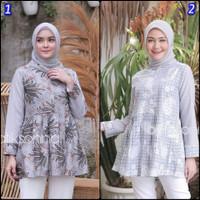 Batik Wanita Atasan Tunik Batik Kirana Blouse Wanita