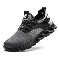 Sepatu Safety, Ringan dan Trendy Suadex Gray Size 42 43