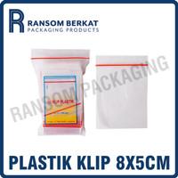 Plastik Klip Polos 8x5 cm (KLPPLS85)