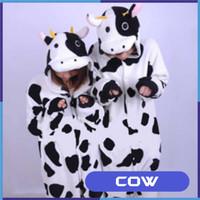 Cow Costume Pajamas Karakter Baju Kostum Sapi Dewasa Kigurumi Unisex