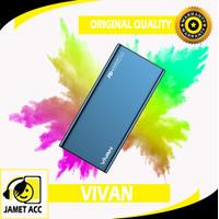 Vivan VPb-F10s Powerbank 10000 Mah Fast Charging Dual USB QC 3.0 18W