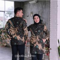 Kemeja Batik Couple Ruffle Exclusive Indonesia - Batik Pria, S