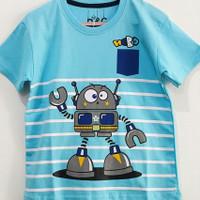 Sale kaos baju anak laki laki size 1 tahun murah #7704 - robot salur