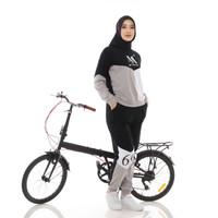 Setelan Olahraga Muslimah / Baju Olga Wanita / Mareema Outwear Premium