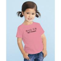 NCT DREAM KOREA KIDS KAOS T-SHIRT FASHION ANAK PEREMPUAN CEWEK COWOK