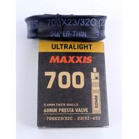 Maxxis Tube Ban Dalam Sepeda 700C 23-32 Pentil 60mm