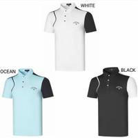 men Polo shirt golf calaway baju kaos olahraga sport pria men