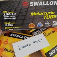 Ban dalam motor vespa 350 ring 10 ,120/ 70 10, 100/90 10