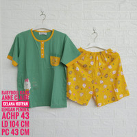 Setelan Kaos ANNE CLAIRE Lengan Pendek Celana Hotpen (ACHP)