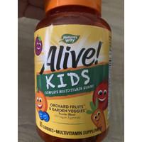 Alive kids multivitamin anak nature's way / natures way multivitamin