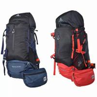 Tas Gunung Avtech Levuca 60L tas Hiking Carrier Outdoor Keril pria
