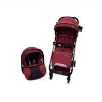 Stroller Pliko Urban Travel System/ Stroler+Carseat / Kereta Anak Bayi - Red
