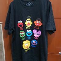 Baju Kaos Sesame Street Import Universal Studio Singapore