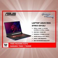 Asus ROG STRIX Core i7-10750H 8GB/512 SSD NVIDIAGeForce GTX 1650 Ti