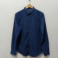 BANANA REPUBLIC Custom 078 Wash Shirt Size Medium Grand Fit