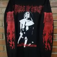 jual kaos baju band musik Cradle of filth vestal Jesus black metal