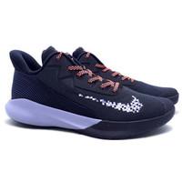 Sepatu Basket Nike Precision IV - Black/Football Grey Original