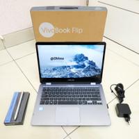 Asus Vivobook Flip TP410 UA FHD i3 7100u RAM 4GB SSD 256GB Touchscreen