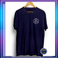 Baju Kaos Distro Pria Tshirt Cowok Kekinian Keren Logo Linkin Park