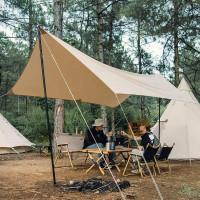 Flysheet Nata Tenda Hexa 3x4 Meter Cover Tenda Bahan Cordura Mantap