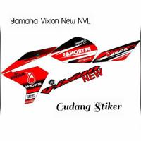 STIKER YAMAHA VIXION NEW NVL STRIPING VARIASI