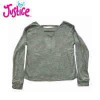Baju atasan anak perempuan lengan panjang justice 7 tahun premium