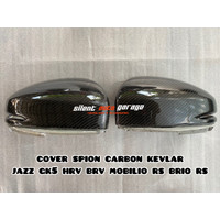 cover spion carbon kevlar jazz gk5 brio rs mobilio rs brv