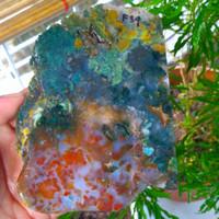 pancawarna klawing super bahan bukan kalimaya opal garut F34