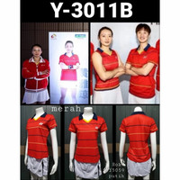 KAOS BADMINTON CEWEK LADIES YONEX IMPORT Y 3011 B BAJU OLAH RAGA