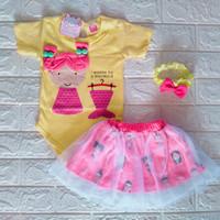 baju bayi perempuan 0 6 bulan newbron jumper romper bayi cewek cwek