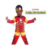Baju Anak Murah / Stelan / Kostum Iron Man - 2 th
