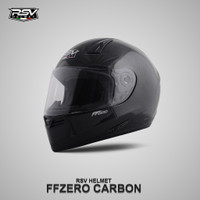 Helm Fullface RSV FFZERO Carbon Glossy