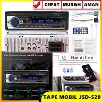 HEAD UNIT JSD-520 SINGLE DIN STEREO RADIO FM USB/SD/AUX HIGH QUALITY