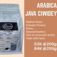 Kopi Arabika Ciwidey Jawa barat 250gr (Specialty Arabica Coffee)