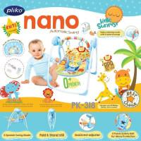Pliko Nano Automatic Swing PK-318 / Ayunan Bayi Elektrik Pliko - Hello Sunrise