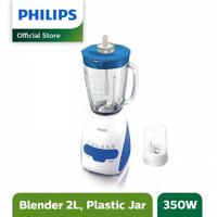 Philips HR-2115 Blender Plastik 350W Tango 2L HR2115 Biru