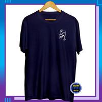 Baju Kaos Distro Pria Tshirt Oblong Cowok Kekinian Logo Ace of Spades