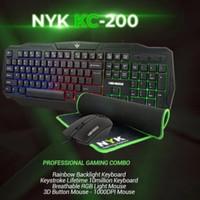 Keyboard gaming NYK KC-200/Keyboard gaming Artemis kc-200 set/3 in 1