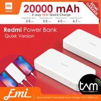 Xiaomi Mi Power Bank 3 20000mAh 18W Two-way QUICK CHARGING
