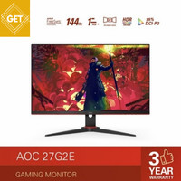 Monitor LED AOC 27G2E 27 IPS 144Hz 1ms VGA HDMI DP FreeSync