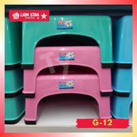 Bangku plastik jongkok lion star segi japan keramik. G-12