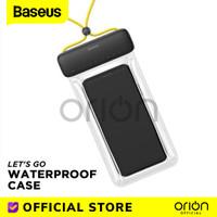 Baseus Lets Go Sarung Pelindung HP Waterproof Case Anti Air Pouch Bag
