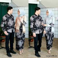 TERMURAH BAJU BATIK COUPLE MURAH Couple Gamis Syari KEBAYA BRUKAT MODE