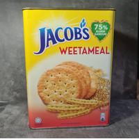 Biskuit Jacob weetameal Kaleng 700g (free packing)