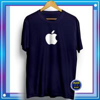 Baju Kaos Distro Pria Apple Tshirt Oblong Cowok Kekinian Murah Keren