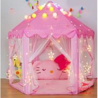 Tenda anak free LED / Tenda Princess / Playmatt / Tempat Bermain anak