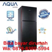 Kulkas 2 pintu aqua sanyo D 261 low watt