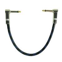 Kabel Efek Gitar Jumper (1 pc) Low Noise Instrument Patch Cable LPC-26 - Hitam