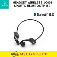 Usams Bone Conduction Open Ear Bluetooth Wireless Sport Headset JC001
