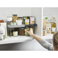 CupboardStore Expandable Shelf - Grey